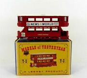 Matchbox Models of Yesteryear Y3