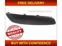 VW JETTA 2006-2008 GTI GT TDI FRONT BUMPER MOULDING RIGHT PRIMED NO LAMP WASH NEW FREE DELIVERY