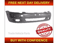 TOYOTA YARIS 2003-2005 FRONT BUMPER PRIMED NEW INSURANCE APPROVED HIGH QUALITY FREE DELIVERY
