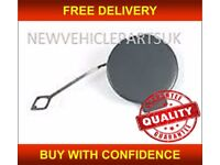 BMW 3 E46 M3 M-SPORT COUPE CONVERTIBLE 2000-2005 FRONT BUMPER TOW EYE COVER NEW FREE DELIVERY