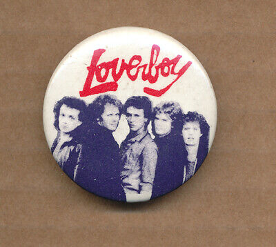 Loverboy RARE vintage button set for sale  Shipping to India