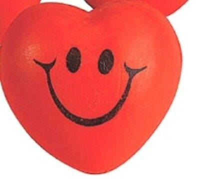 1 Smile Face Heart-Shaped Stress Ball   ** Free S/H with 6 items from my store](Halloween Stress Balls)
