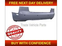 AUDI A4 2005-2008 REAR BUMPER PRIMED WITH PDC FITS S-LINE SALOON ONLY NEW FREE DELIVERY