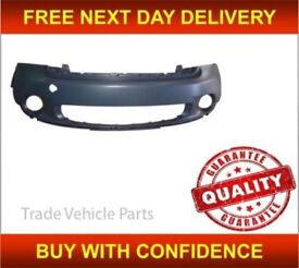 Mini Paceman R61 2013-2017 Front Bumper Primed With Moulding Holes New