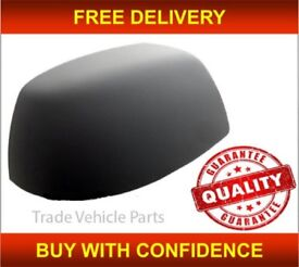 FORD FOCUS 2005-2007 DOOR WING MIRROR COVER PRIMED DRIVER SIDE NEW HIGH QUALITY NEW FREE DELIVERY