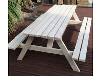 Garden/Picnic Table, 6ft, new. FREE delivery Norwich