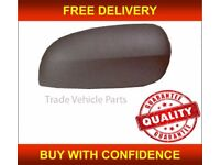 VAUXHALL CORSA C 2000-2006 DOOR WING MIRROR COVER BLACK DRIVER SIDE NEW HIGH QUALITY FREE DELIVERY