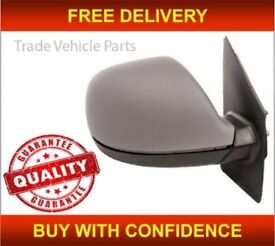 VW CARAVELLE 2010-2015 DOOR WING MIRROR MANUAL PRIMED DRIVER SIDE NEW HIGH QUALITY NEW FREE DELIVERY