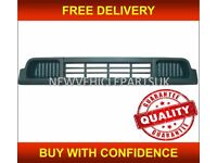 VW TRANSPORTER T5 2003-2009 FRONT BUMPER GRILLE CENTRE MAT GREY NEW HIGH QUALITY FREE DELIVERY