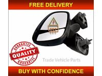 NISSAN PRIMASTAR 2002-2014 DOOR WING MIRROR ELECTRIC HEATED BLACK PASSENGER SIDE NEW FREE DELIVERY