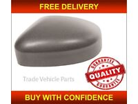 FORD FOCUS 2008-2011 DOOR WING MIRROR COVER GLOSS BLACK PASSENGER SIDE NEW FREE DELIVERY