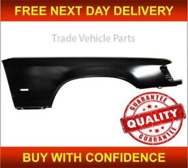 MERCEDES E-CLASS W124 1984-1995 FRONT WING DRIVER SIDE WITH INDICATOR HOLE NEW FREE DELIVERY