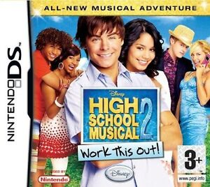 Disney High School Musical 2 - work this out