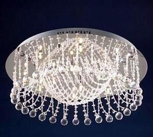 Royal Crown flush Crystal Chandelier***SPECIAL***