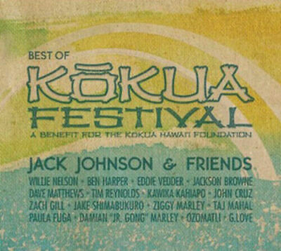 JACK JOHNSON AND FRIENDS - BEST OF KOKUA FESTIVAL (CD