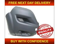 FIAT DUCATO 2014- FRONT BUMPER END CORNER DRIVER SIDE NEW INSURANCE APPROVED NEW FREE DELIVERY