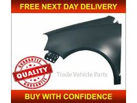 VW POLO 2005-2009 FRONT WING PASSENGER SIDE NEW INSURANCE APPROVED HIGH QUALITY FREE DELIVERY