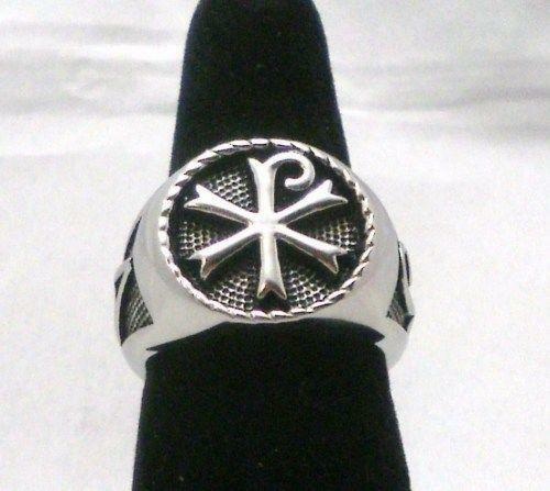 Chi Rho Ring Ebay