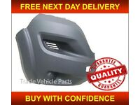 PEUGEOT BOXER 2014- FRONT BUMPER END CORNER DRIVER SIDE NEW INSURANCE APPROVED NEW FREE DELIVERY