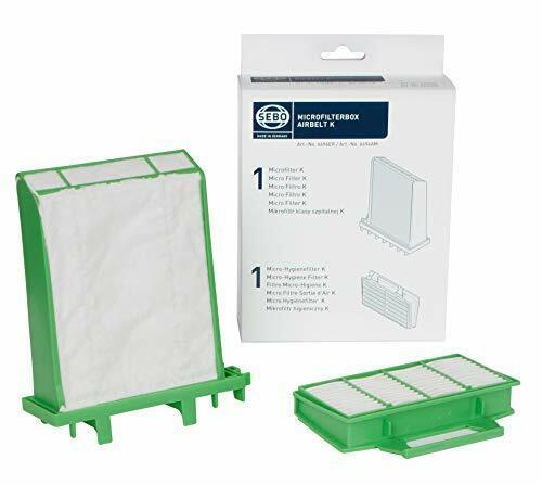 Sebo K Series Vacuum Filter Set