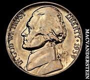 1939 D Nickel