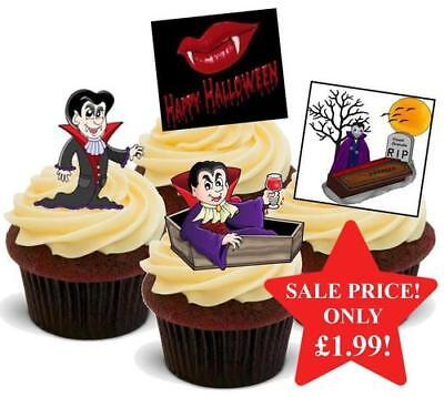 Halloween Count Dracula Mix Stand Up Premium Card Cake Toppers](Halloween Mix Up)