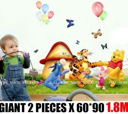 giant nursery wall stickers ebay