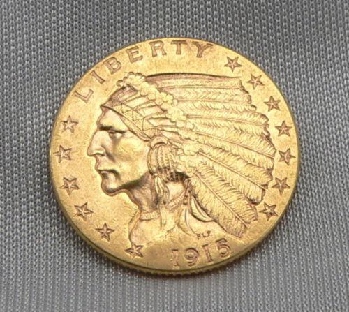 1915 2 1 2 Gold Coin Ebay