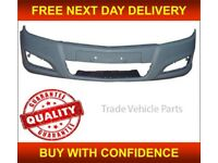 VAUXHALL ASTRA H MK5 2007-2010 FRONT BUMPER PRIMED NEW INSURANCE APPROVED FREE DELIVERY