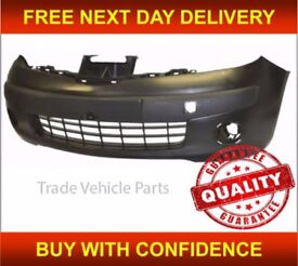 NISSAN NOTE 2006-2008 FRONT BUMPER NEW INSURANCE APPROVED HIGH QUALITY FREE DELIVERY