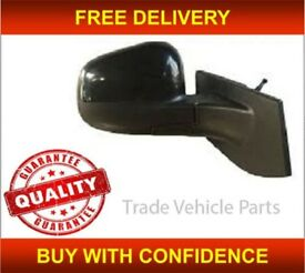 CHEVROLET SPARK 2010- DOOR WING MIRROR MANUAL BLACK DRIVER SIDE NEW HIGH QUALITY FREE DELIVERY