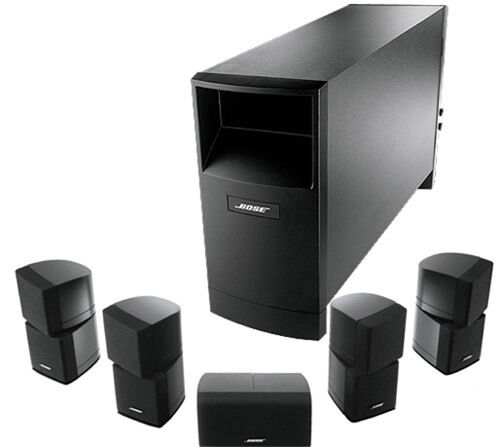 bose acoustimass 15 series 5 1 surround sound home cinema system almost brand new condition. Black Bedroom Furniture Sets. Home Design Ideas