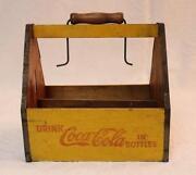Yellow Coca Cola Crate