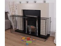 Fireguard. - large safety fireguard only used once suitable for all open fires/woodburners