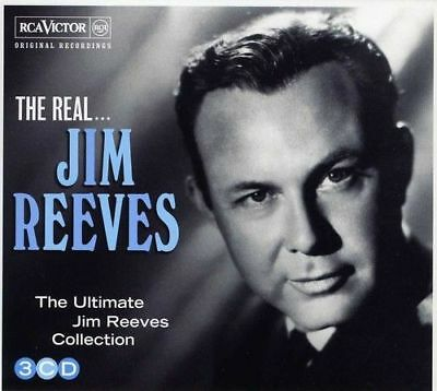 JIM REEVES * 60 Greatest Hits * NEW 3-CD Boxset * All Original Songs * NEW