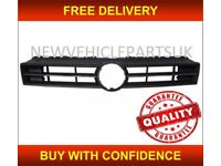 VW POLO 2009-2014 FRONT BUMPER GRILLE MAIN CENTRE BLACK NEW INSURANCE APPROVED NEW FREE DELIVERY