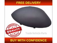 PEUGEOT 206 1998-2007 DOOR WING MIRROR COVER PRIMED DRIVER SIDE NEW HIGH QUALITY FREE DELIVERY