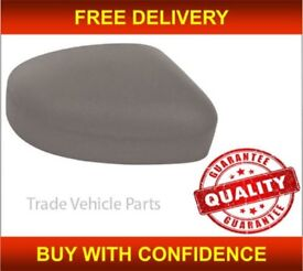 FORD FOCUS 2008-2011 DOOR WING MIRROR COVER PRIMED DRIVER SIDE NEW HIGH QUALITY NEW FREE DELIVERY
