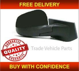 CHEVROLET SPARK 2010- DOOR WING MIRROR HEATED ELECTRIC BLACK DRIVER SIDE NEW FREE DELIVERY