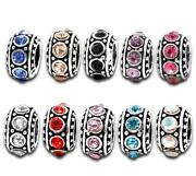 Rhinestone European Beads