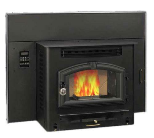 Pellet stove fireplace insert ebay - Pellet stoves for small spaces set ...