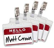 Name Tag Holder