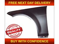 MERCEDES C-CLASS W204 2007-2014 FRONT WING PASSENGER ALUMINIUM INSURANCE APPROVED FREE DELIVERY