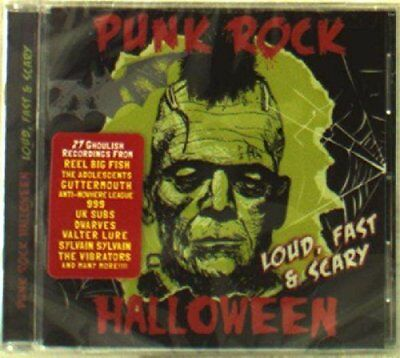 Punk Rock Halloween Loud Fast and Scary [CD]