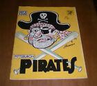 Pittsburgh Pirates Baseball 1958 Vintage Sports Publications