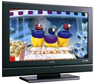 """ViewSonic 42"""" 1080p LCD ViewSonic 42"""" 1080p LCD TV HDTV works"""