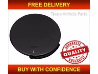 FORD FIESTA 2002-2005 FRONT BUMPER TOWING EYE COVER CAP PRIMED NEW HIGH QUALITY FREE DELIVERY