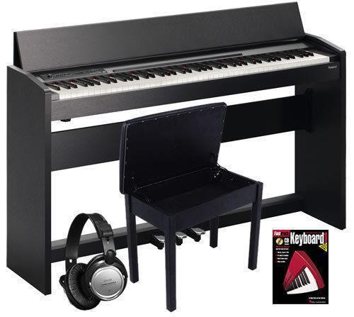 roland f 120 pianos keyboards organs ebay. Black Bedroom Furniture Sets. Home Design Ideas