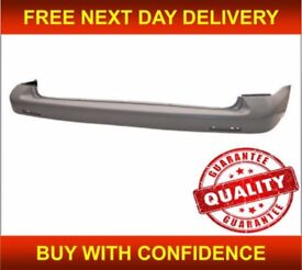 VW TRANSPORTER T5 & T5.1 2003-2012 REAR BUMPER SMOOTH PRIMED INSURANCE APPROVED FREE DELIVERY