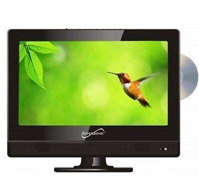 "Supersonic SC-1312 13.3"" TV/DVD Combo - HDTV - 16:9 - 1366 x 768 - 720p - LED -"